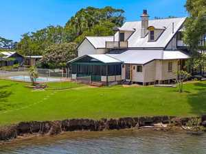 Historic riverfront home sells before auction