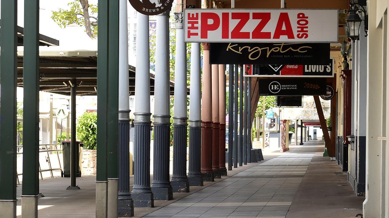 Photographs taken around Townsville on 30 March 2020 show the effects of the coronavirus lockdown. PICTURE: MATT TAYLOR.