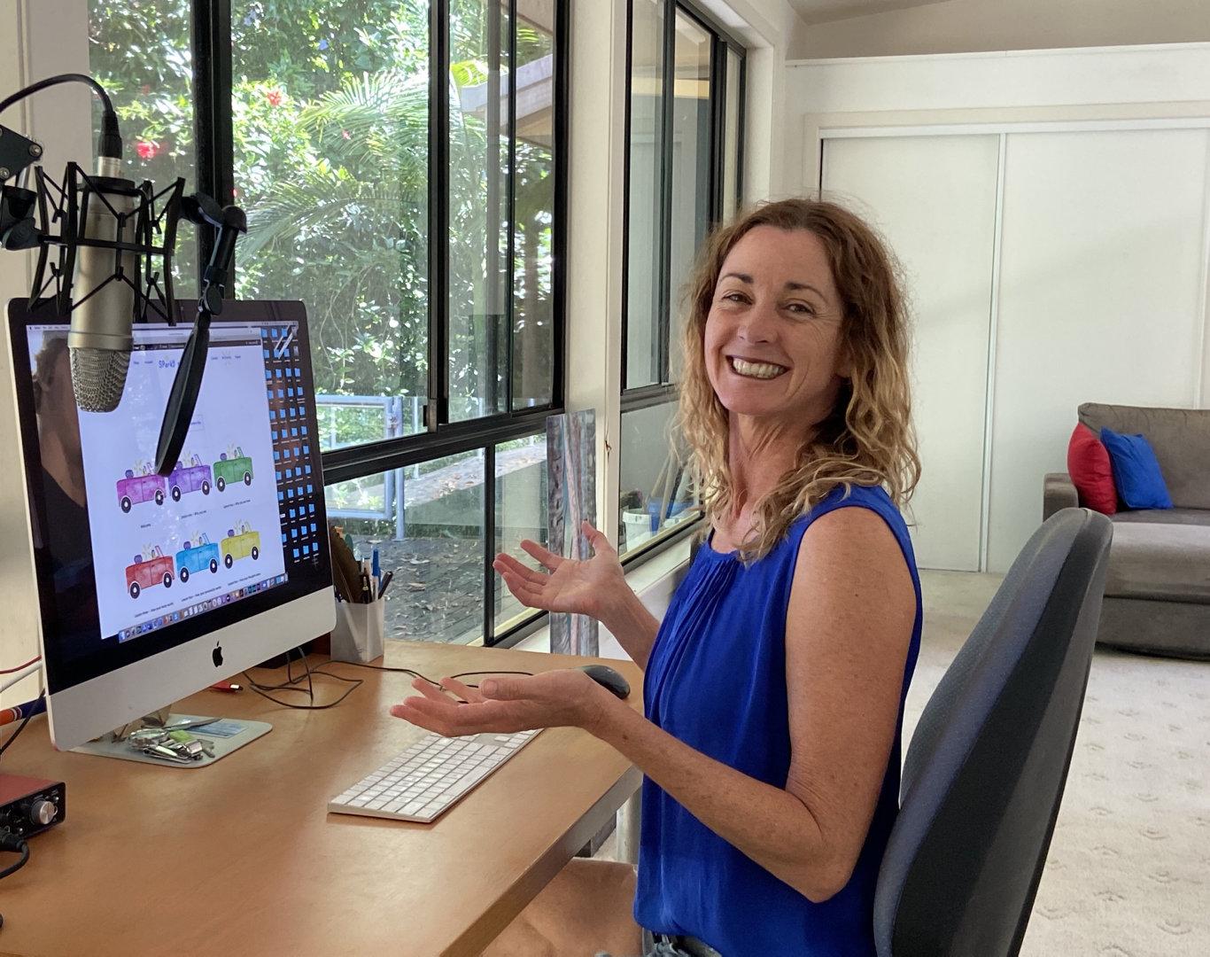 Online teacher Kathy Sheehan