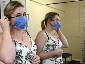 Toowoomba business making masks