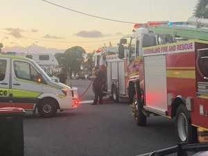 Emergency services respond to unit fire in Rockhampton City