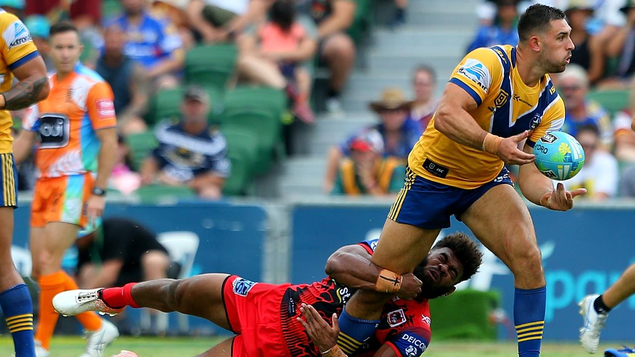 Ryan Matterson in action for the Eels. Picture: James Worsfold/Getty Images