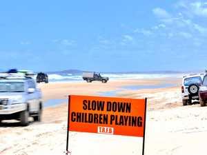 Rainbow Beach, Teewah Beach 4WD access closed