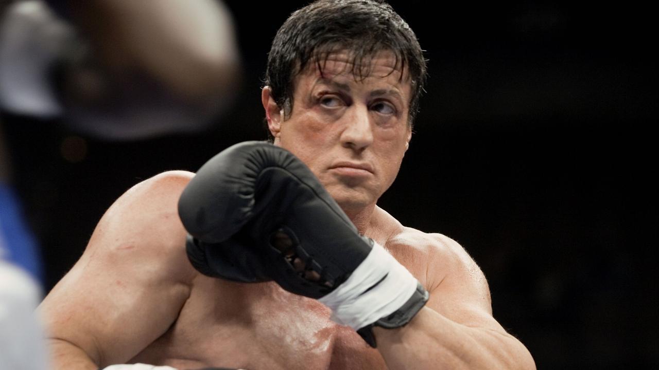 Actor Sylvester Stallone in 2006 film Rocky Balboa.