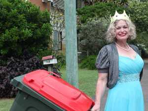 Bay bin chick goes viral with fancy dress challenge