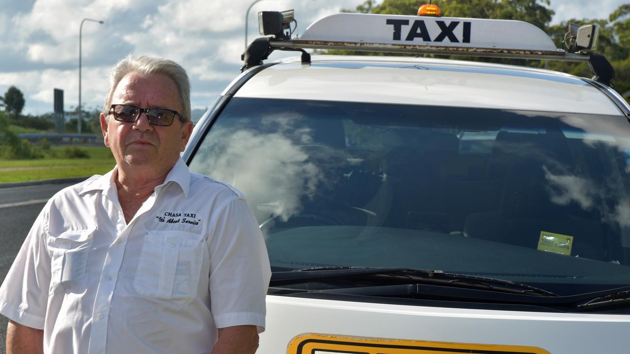 Coffs Harbour cab driver Chris Parker.