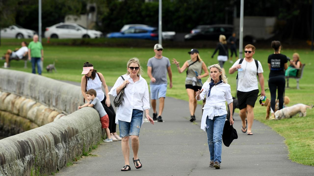 The Commissioner said most of the questions the Government have received about the new measures are about exercise. Picture: AAP Image/Joel Carrett
