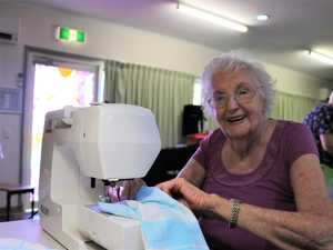 Aged care residents' pouches help bushfire victims recover