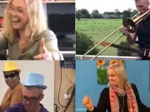 VIDEO: Teachers shake off coronavirus blues with viral dance