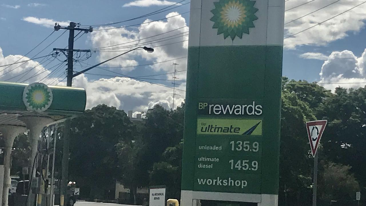 Petrol prices in Lismore