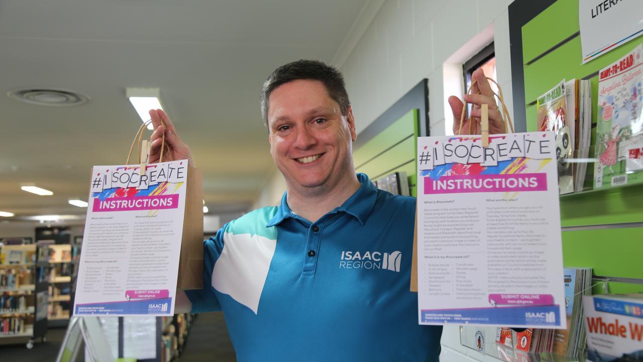 Isaac Libraries' Digital Programs Officer Ryan Hartney.