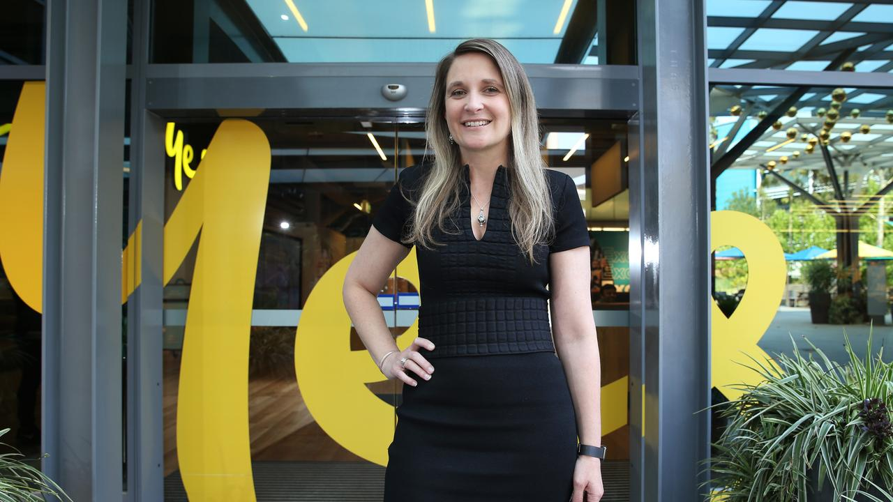New Optus CEO Kelly Bayer Rosmarin. Picture: Britta Campion / The Australian