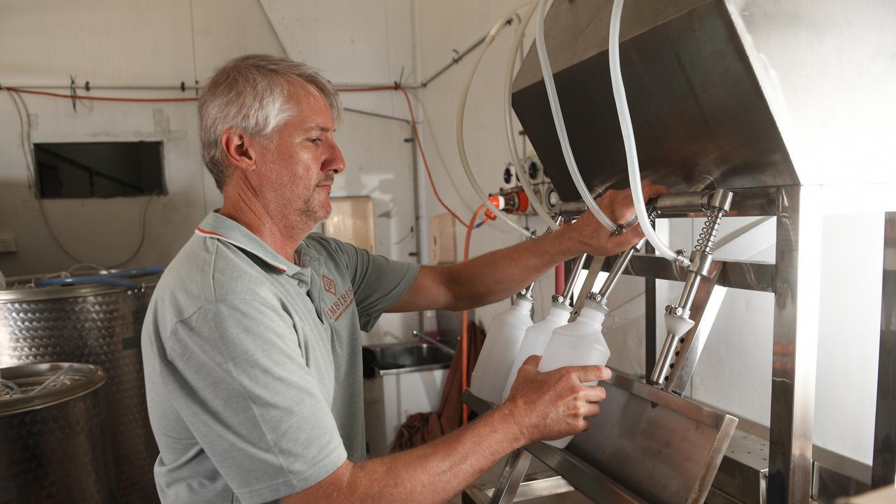 Distiller Jason Hannay.