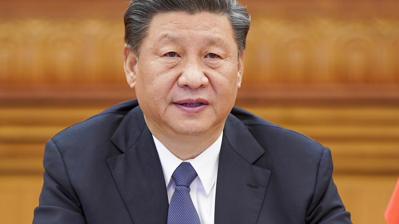 Chinese President Xi Jinping. Picture: Li Xueren/Xinhua via AP