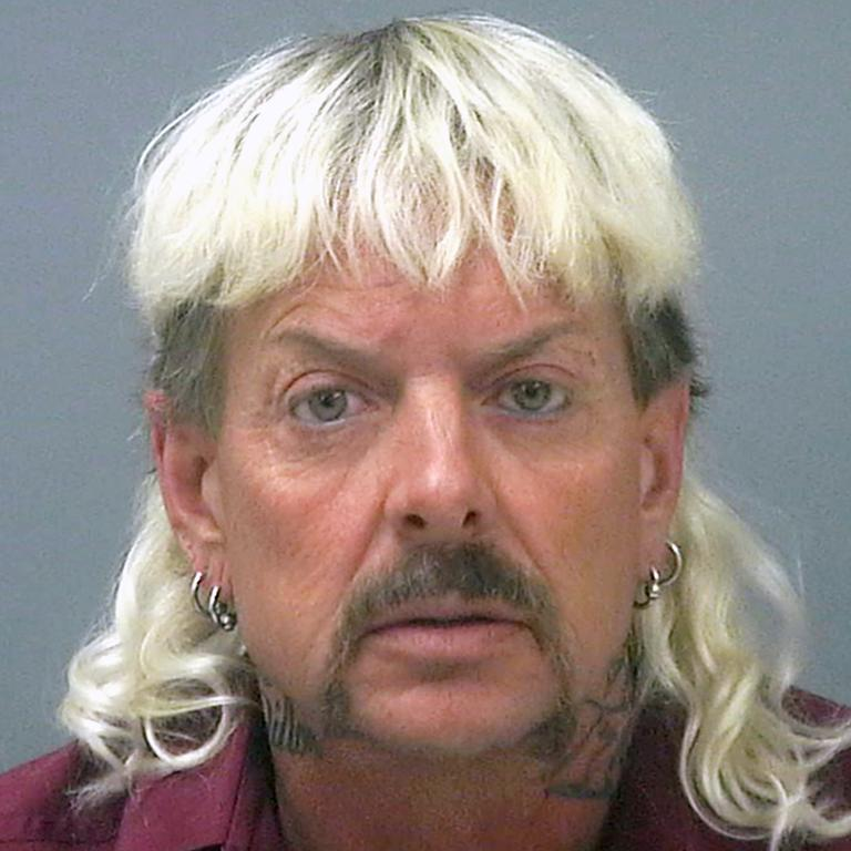 Joe Exotic's mugshot.