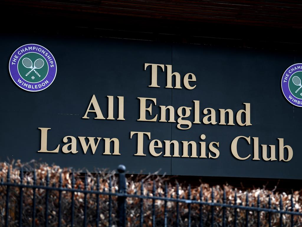 Wimbledon has been cancelled. Picture: Getty Images