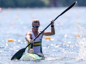 Tokyo-bound paddler has great training partner in lean times