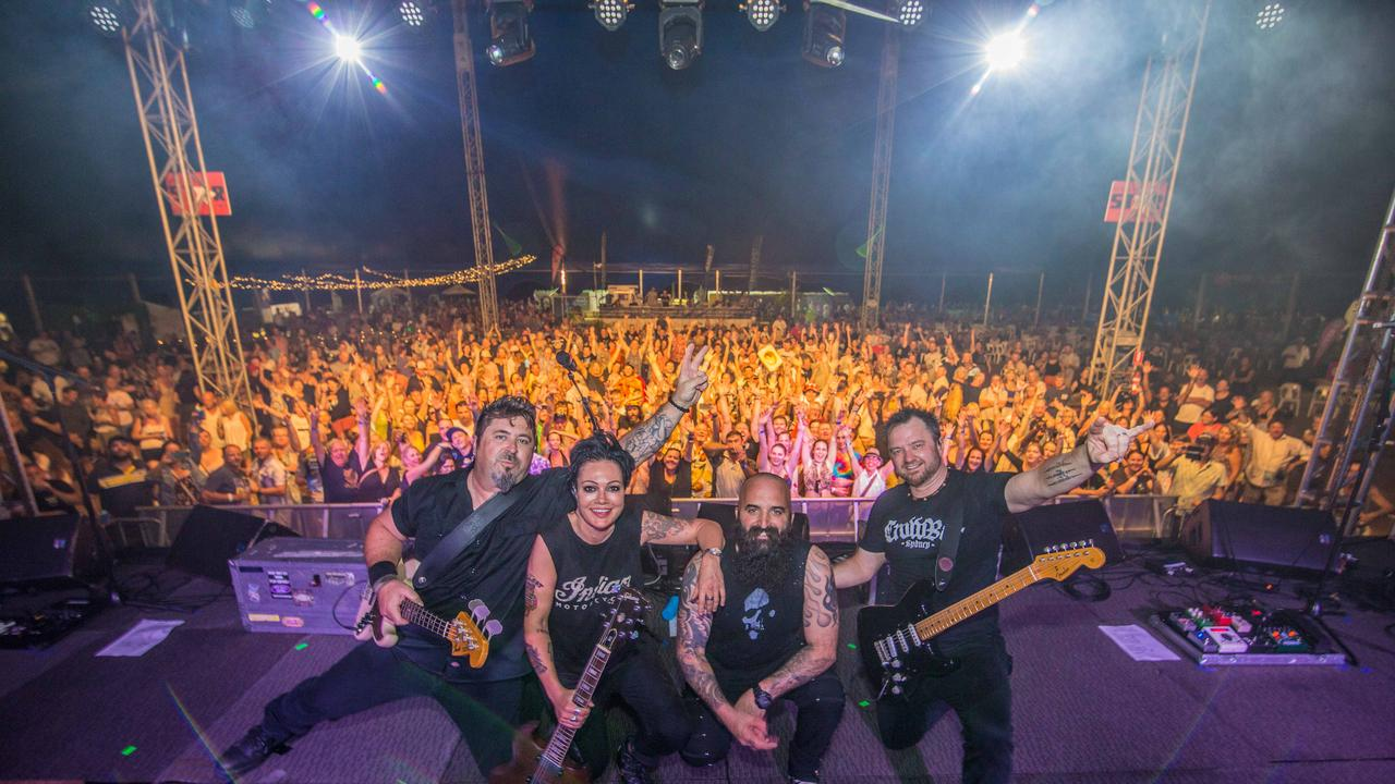 The Superjesus at the 2019 Airlie Beach Festival of Music. PHOTO: Andrew Pattinson / Vampp Photography
