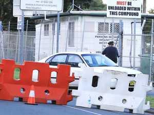 Driver's brazen move to dodge border closure
