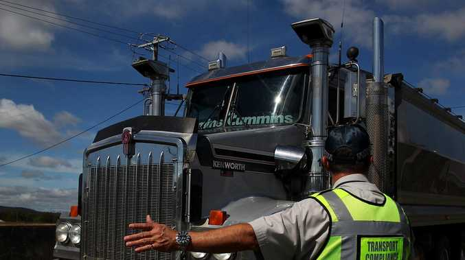 Truckies get green light through Queensland border