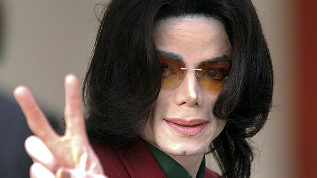 Michael Jackson pictured in 2005. Picture: AP Photo.