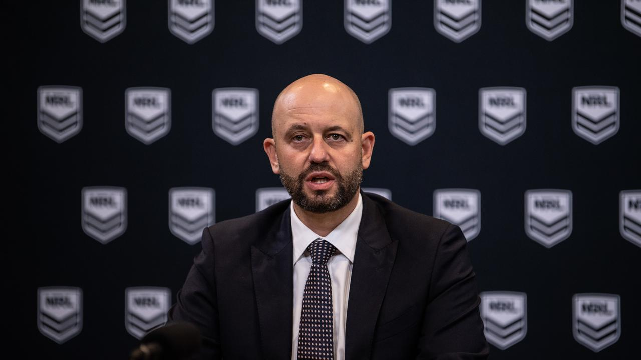 NRL CEO Todd Greenberg will be hoping this gets the game going again.