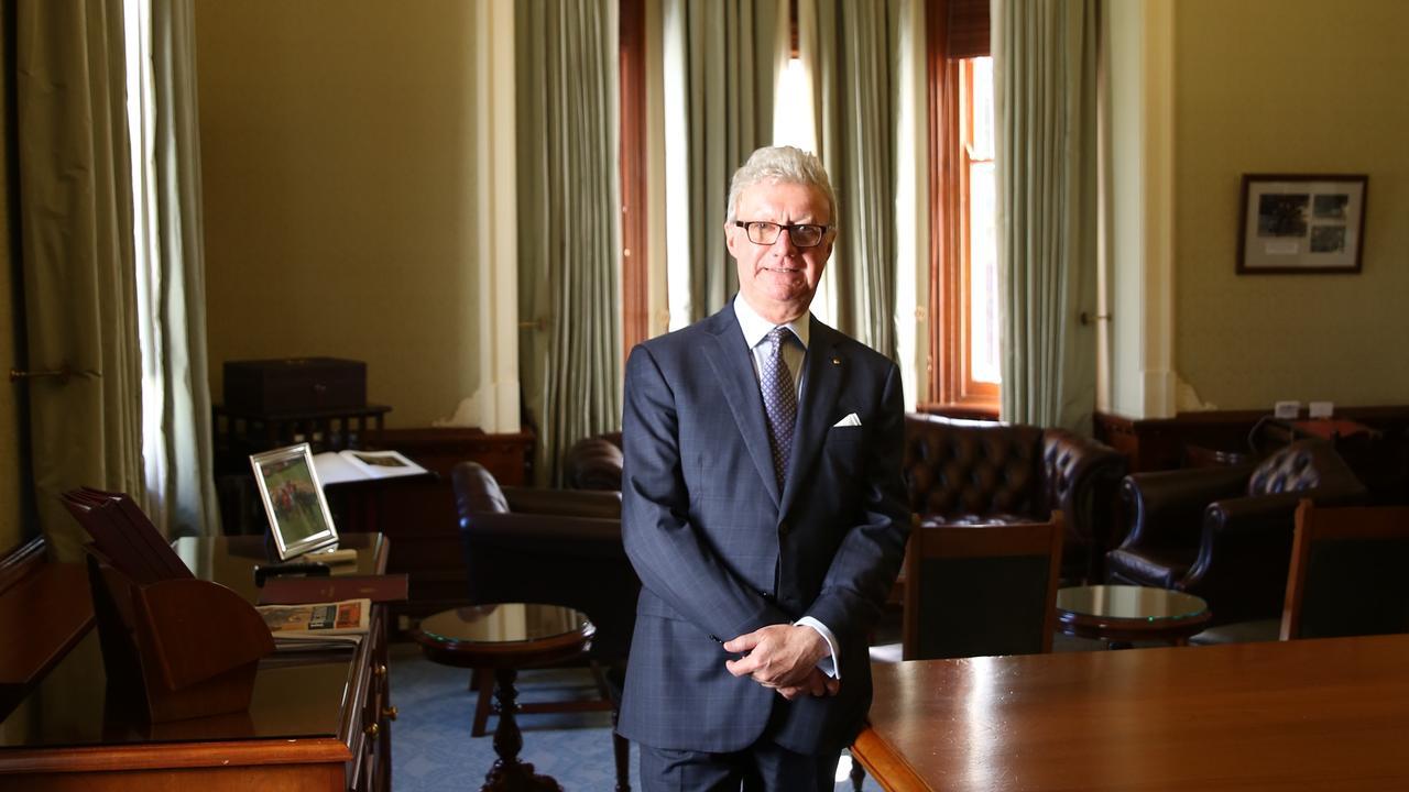Governor Paul de Jersey. Photo David Kelly