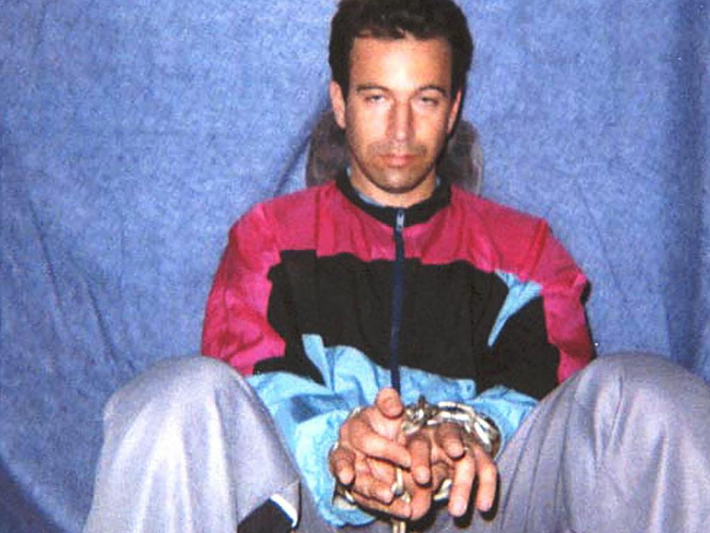 Daniel Pearl in captivity. Picture: AP