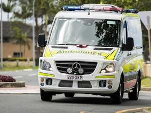Man with serious head injuries after motorcycle crash