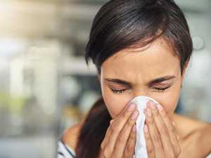Common cold symptoms causing anxiety spike