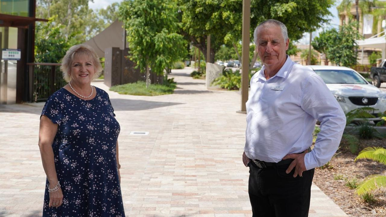 ROOKWOOD UPDATE: Capricornia MP Michelle Landry and newly announced LNP candidate for Keppel Adrian de Groot are frustrated with the ongoing delays in building Rookwood Weir.