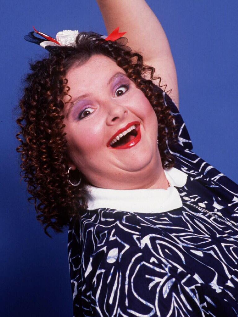 Comedian Magda Szubanski seen here as Pixie Anne Wheatley.