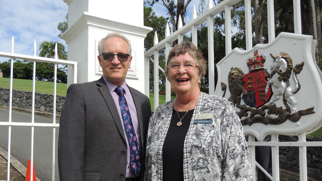 National VIEW president Anne-Louise O'Connor with The Smith Family GM Alan Le May.