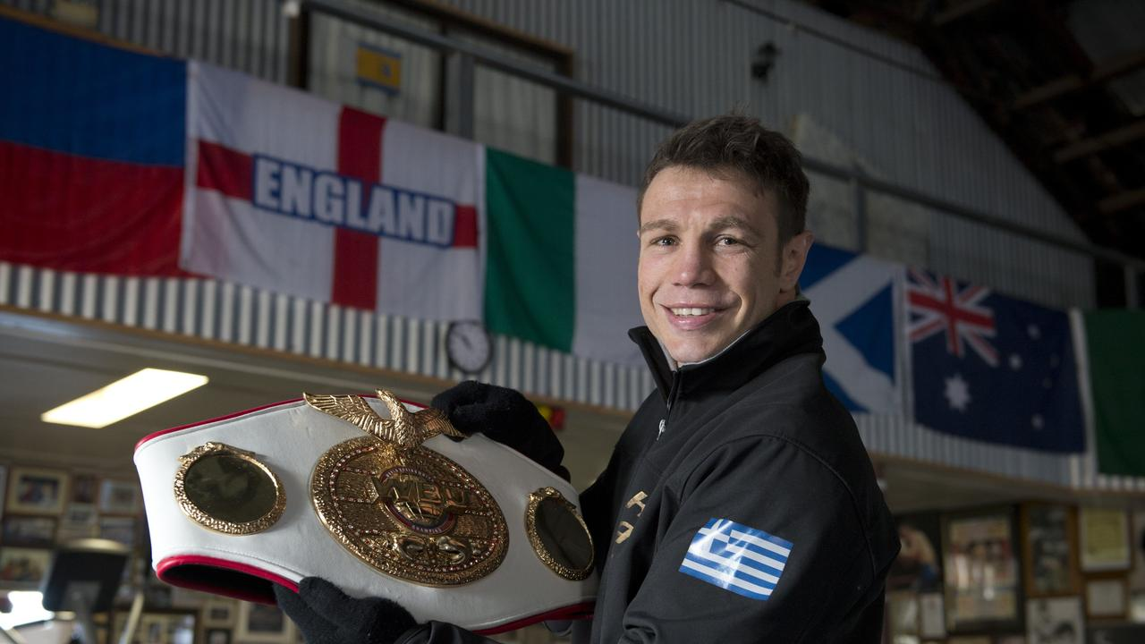 Former WBU world championship belt holder Michael Katsidis was preparing to fight Mexican Jesus Chavez on this day in 2009 – winning by knockout.   Picture: Kevin Farmer