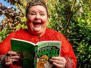 Comedian Magda Szubanski turns children's book author