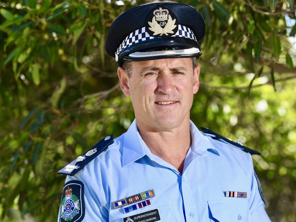 Craig Hawkins has replaced Darryl Johnson as head of the Sunshine Coast Police. Photo: Warren Lynam