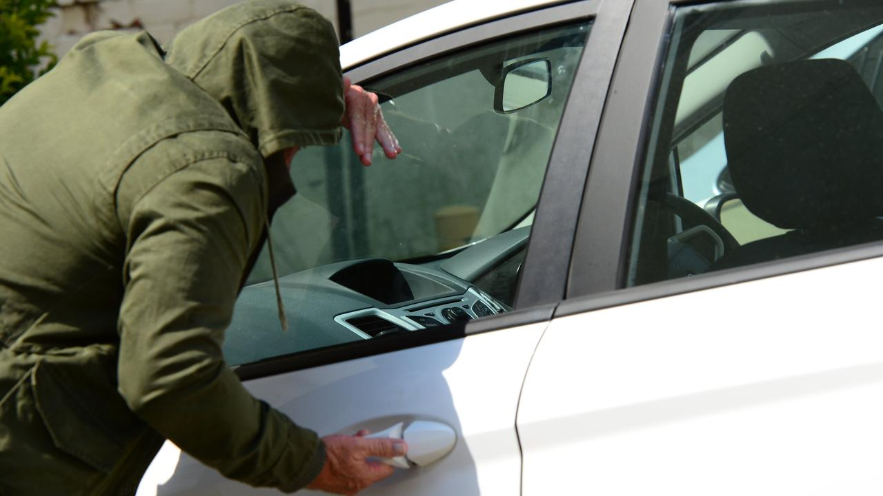 Thieves are targeting vehicles on the Sunshine Coast.