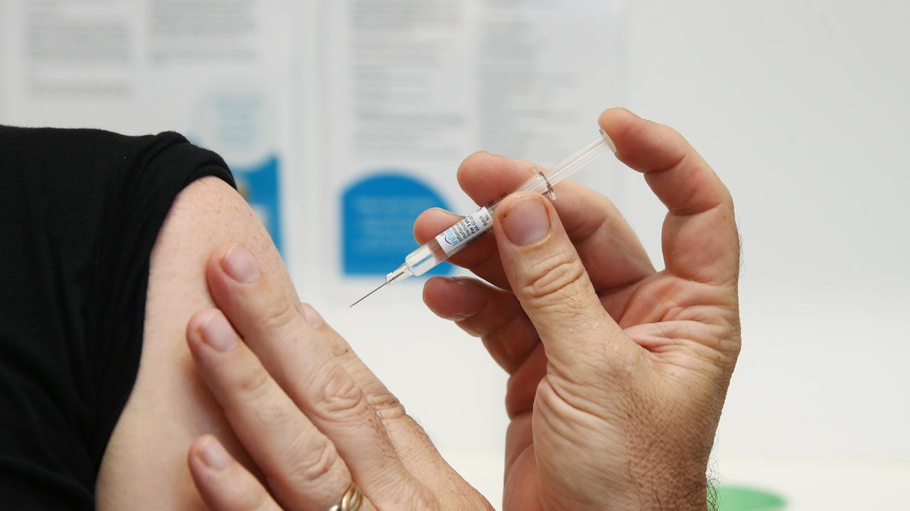 Doctors and pharmacists will control the distribution of this season's influenza vaccine, or flu shot.