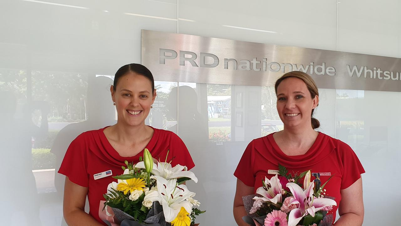 Carinda Ivens won Support Person of the Year and Lorna Serfontein was a finalist in the Senior Property Manager of the Year category, at the PRD network's national awards.