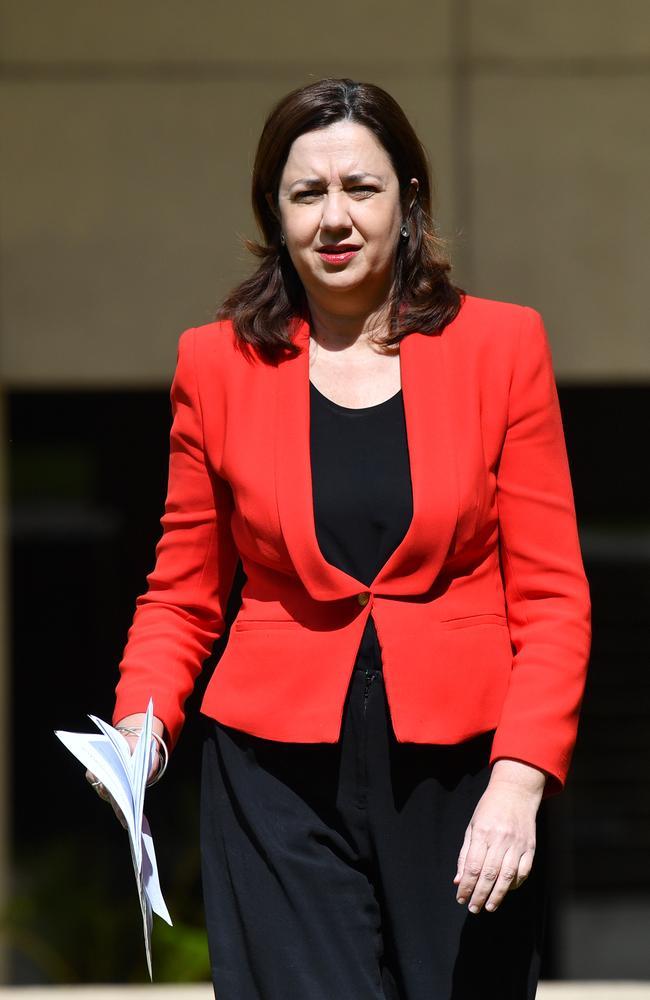Queensland Premier Annastacia Palaszczuk. Picture: AAP Image/Darren England