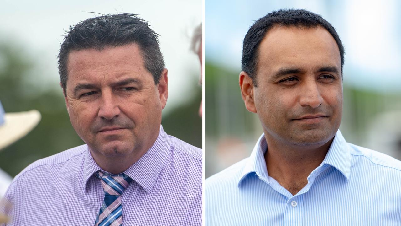 Cowper MP Pat Conaghan and Coffs Harbour MP Gurmesh Singh have called for calm amid COVID-19 pandemic.