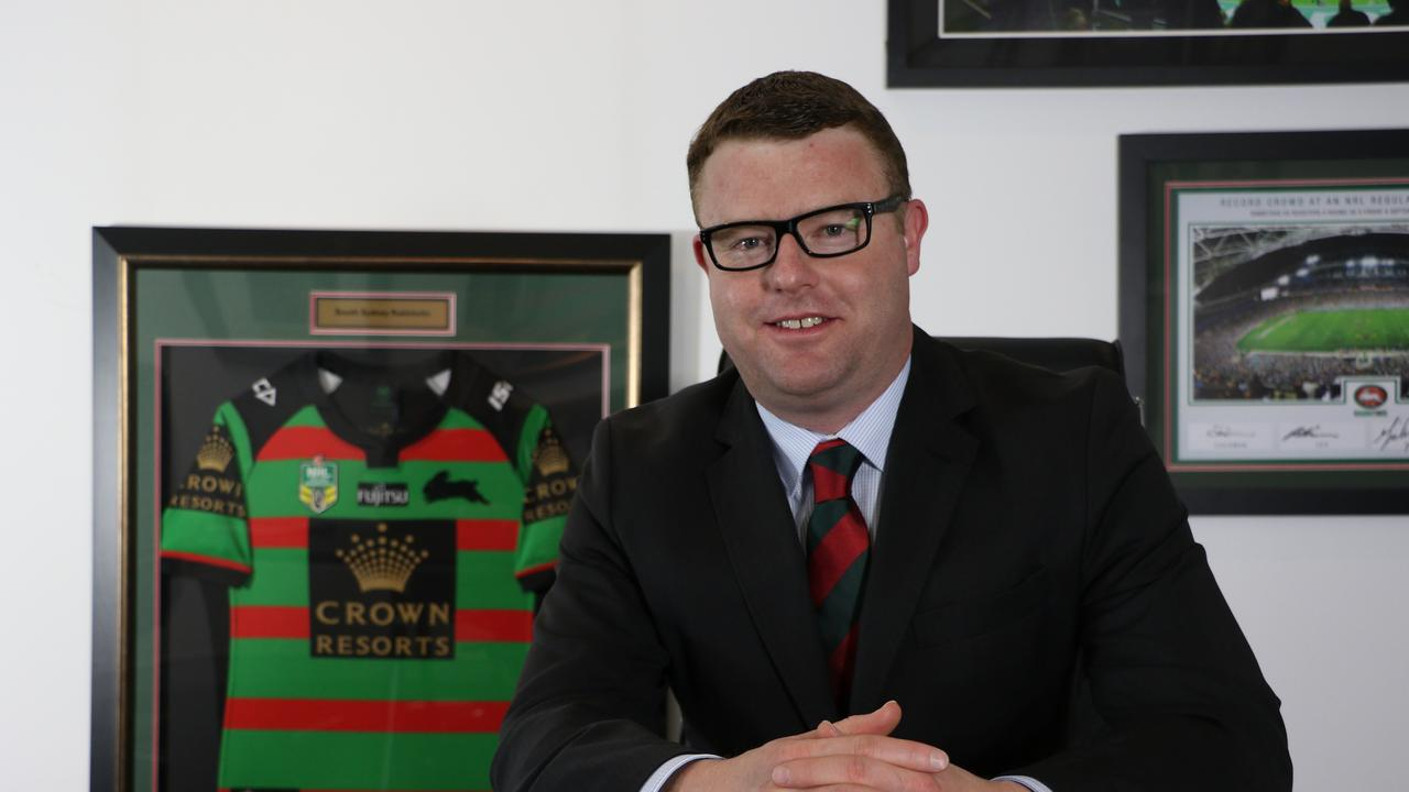 South Sydney Rabbitohs CEO Blake Solly has been blown away by the support from fans. Picture: supplied.