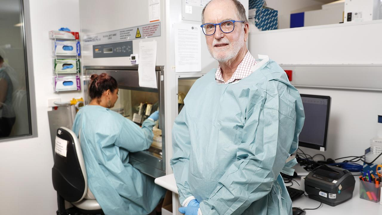 Most of us would run a mile from a droplet of COVID-19 but these dedicated frontline workers are handling 1500 samples of the deadly virus every day.