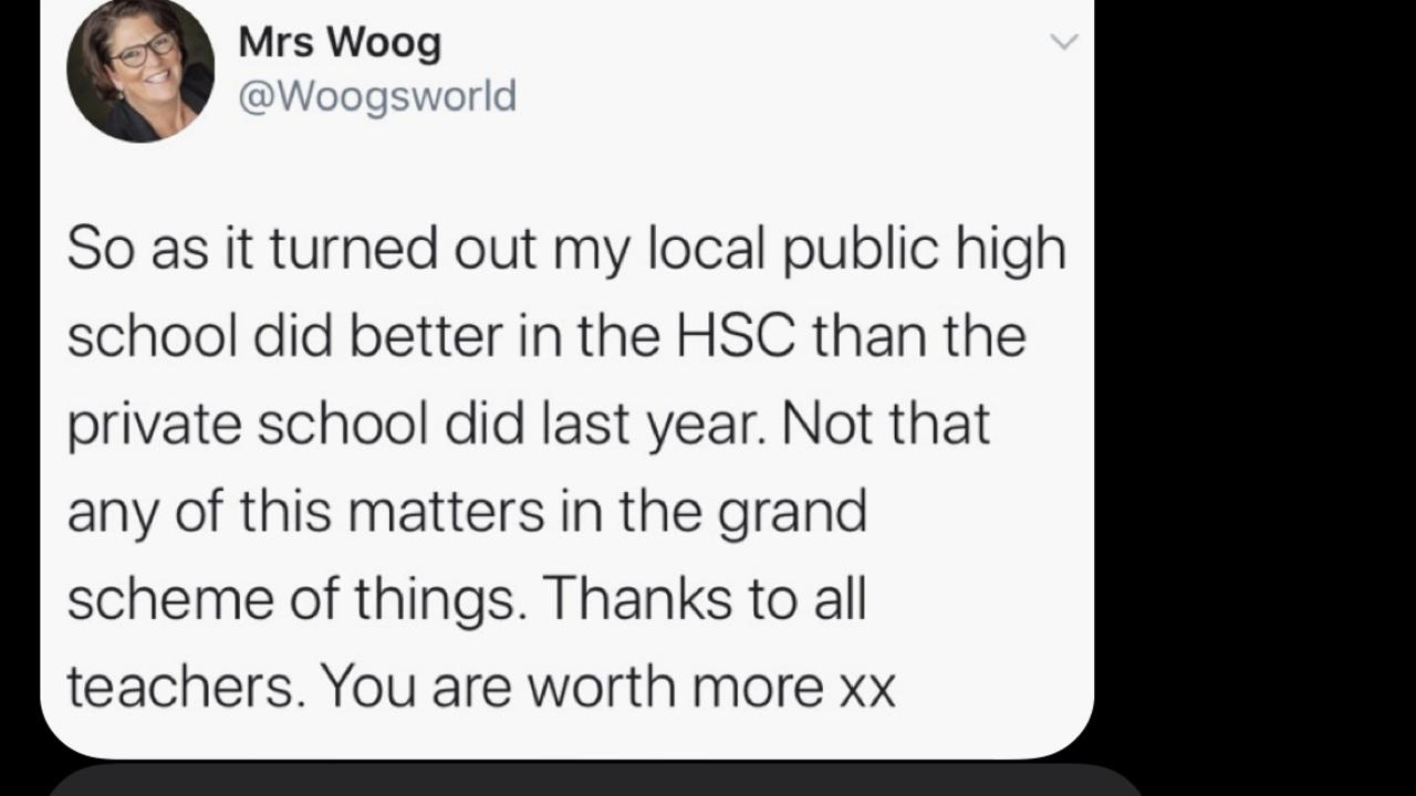 Mrs Woog received so much attention from the post that she jumped back on Twitter to clarify a few things.