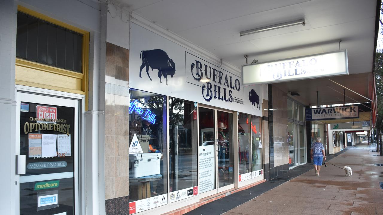 EMPTY STREETS: Retail traders on Palmerin St have had to cut hours and close doors due to the COVID-19 pandemic.