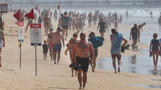 Mayor orders beaches closed, slams people ignoring warnings