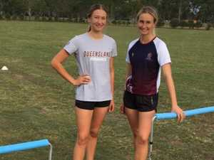 Backyard rivalry helps sisters reach new heights