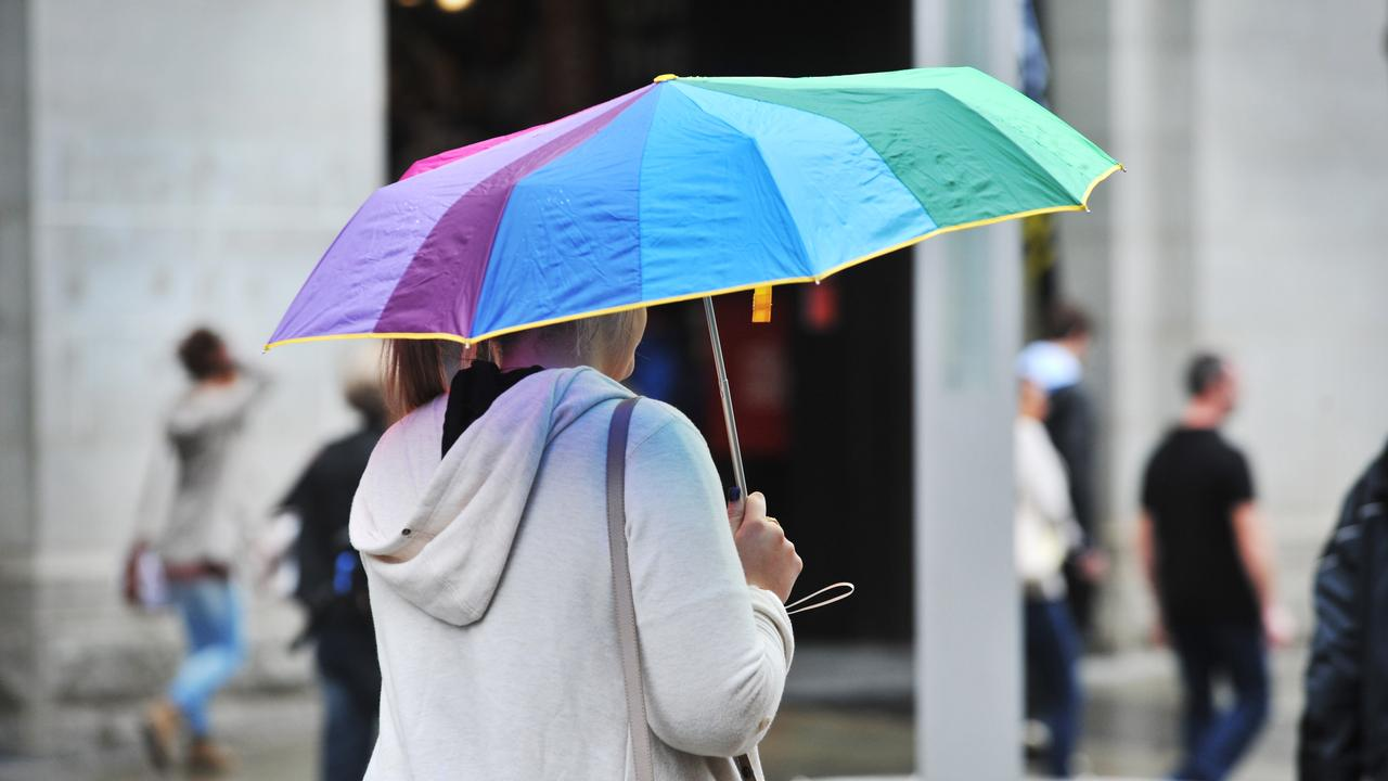 Residents can rest easy knowing their daily walks for fresh air may only be interrupted by light showers throughout the week – nothing an umbrella can't fix. Photo: Allen Stewart