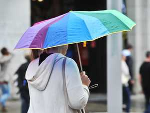 Daily walks for fresh air still possible with umbrella