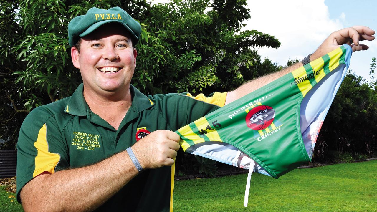 Earl Neilsen was diagnosed with stage three cancer and Pioneer Valley Cricket Club started raising money for him. Picture: Tony Martin